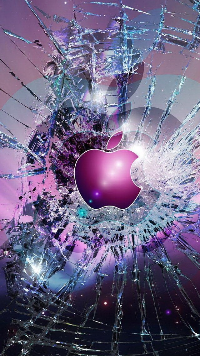 Apple-Logo-Broken-Glass-iphone