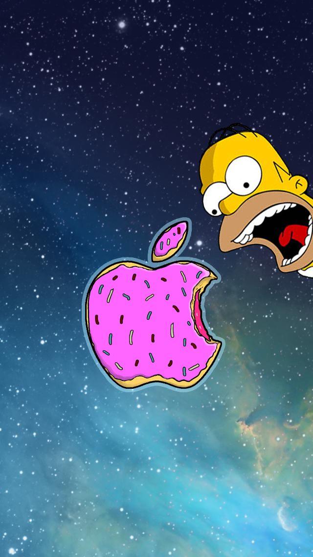 apple-simpson-homer